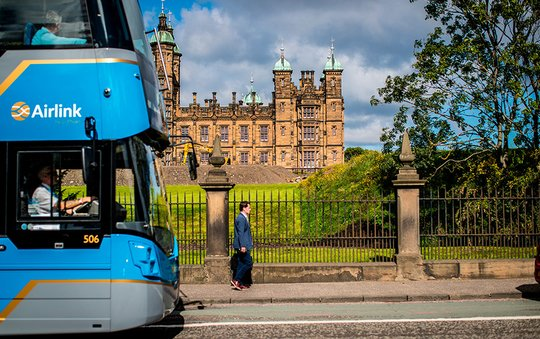 Local guide to Edinburgh - Haymarket station - City & Country