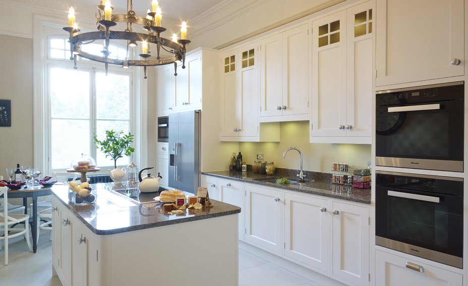 Shaker kitchens within the Marquess Villas