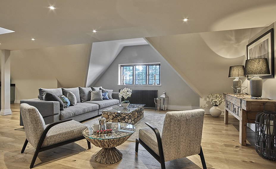 SE29 Open plan living area