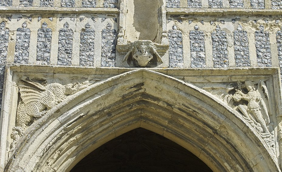 Detailing on the Gate House