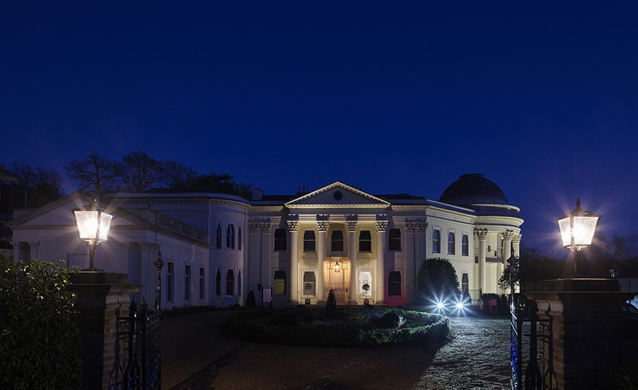 The Mansion at night